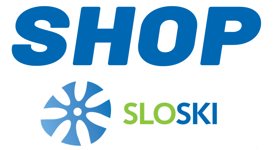 SLOSKI Shop logo footer