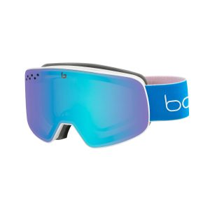 Bolle smučarska očala NEVADA belo modra