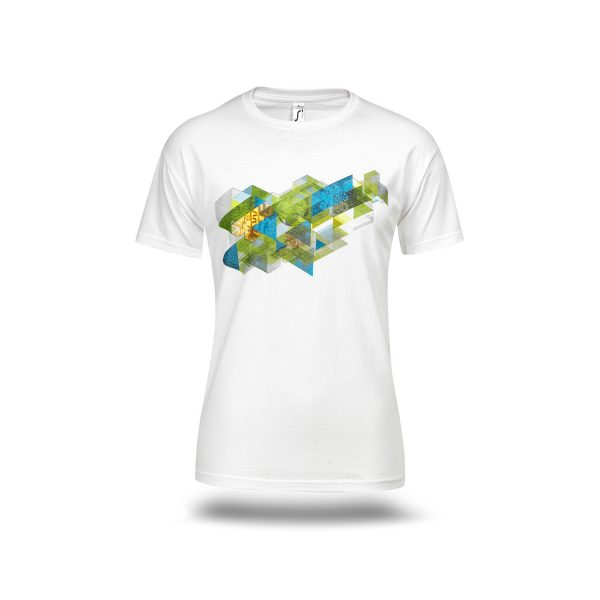Moška majica SP Planica 2020 bela