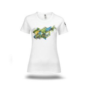 Ženska majica SP Planica 2020 bela