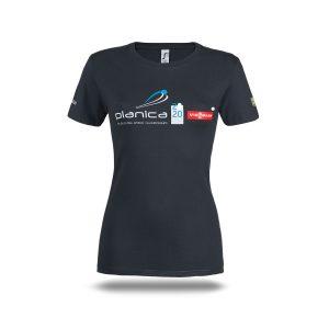 Ženska majica SP Planica 2020 siva