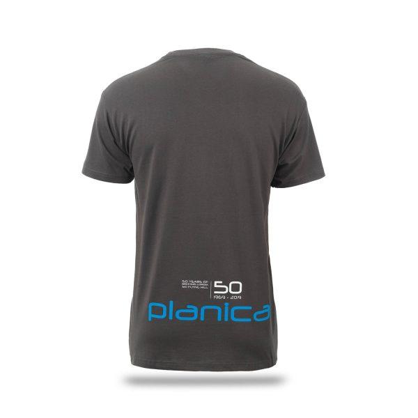 Moška majica Planica 50 let zadaj